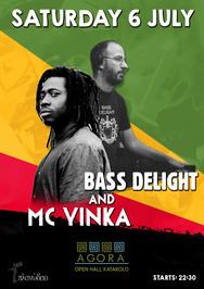 Bass Delight ft Mc Yinka στον Πολυχώρο Agora