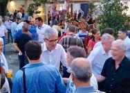 Πλήθος κόσμου στην κεντρική προεκλογική συγκέντρωση του Άγγελου Τσιγκρή στην Πάτρα (φωτο)