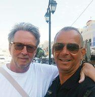 Ο διάσημος κιθαρίστας Έρικ Κλάπτον βρίσκεται στα Δωδεκάνησα