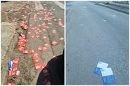 Χαμός με τα φυλλάδια κομμάτων στους δρόμους της Πάτρας! (φωτο)
