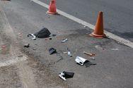 Σοβαρό τροχαίο στην Πάτρα - Ι.Χ. συγκρούστηκε με μηχανή