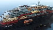 To πρώτο υβριδικό κρουαζεριόπλοιο του κόσμου ετοιμάζεται για το παρθενικό, πολικό του ταξίδι