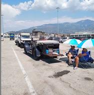 Οι τουρίστες που αγαπούν τα tours έρχονται και φεύγουν από το νέο λιμάνι της Πάτρας