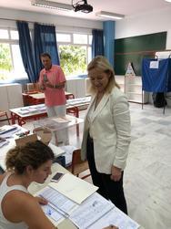Ευσταθία Γιαννιά: 'Ψήφος εμπιστοσύνης για μια Αυτοδύναμη και Ισχυρή Ελλάδα' (φωτο)