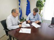 Αιτωλοακαρνανία - Προγραμματική σύμβαση για την υλοποίηση του έργου 'Βελτίωση του δρόμου Κατούνα - Λουτράκι'