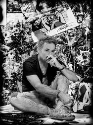 Ο Sentric Bouteiller στην Kapopoulos Fine Arts Mykonos Gallery
