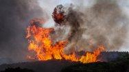 Ανεξέλεγκτη η φωτιά στη Φθιώτιδα