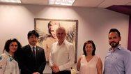 Αδελφοποιήθηκαν ο δήμος Περιστερίου με τον ιαπωνικό δήμο Μισάτο