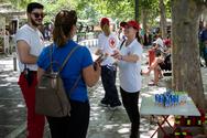 Ο Ελληνικός Ερυθρός Σταυρός βρέθηκε δίπλα στους πολίτες τις ημέρες του καύσωνα