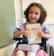 Εκστρατεία και στην Πάτρα για την μικρή Έμμα - Πάσχει από εγκεφαλική παράλυση