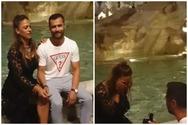 Η πιο ρομαντική πρόταση γάμου ever, έγινε στην Πατρίτσια Κάββουρα, στη Fontana Di Trevi! (video)