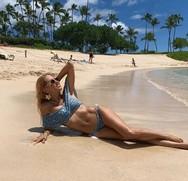 Στη Χαβάη η Αννίτα Ναθαναήλ (φωτο)