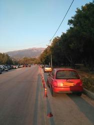 Πάτρα: Παρκάρουν στον 'δήθεν' ποδηλατόδρομο της Πλαζ