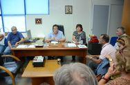 Πάτρα: Σύσκεψη για τα αντιπλημμυρικά έργα στην Δ.Ε. Ρίου
