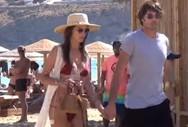 Alessandra Ambrosio - Στη Μύκονο με το νέο της σύντροφο! (video)