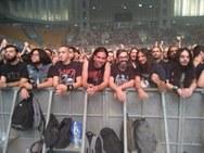 Πατρινοί στη συναυλία των Slayer στο 'Nikos Galis Hall' στο Athens Rock Festival