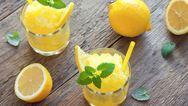 Φτιάξτε γρανίτα λεμόνι για τις καλοκαιρινές νύχτες