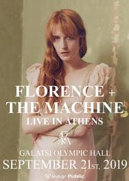 Florence & Τhe Machine στο Κλειστό Ολυμπιακό Γήπεδο Γαλατσίου
