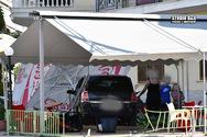 Ναύπλιο: Αυτοκίνητο εισέβαλε σε χώρο καφετέριας (φωτο)