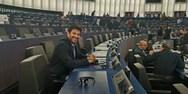 Ο Αλέξης Γεωργούλης στην Ευρωπαϊκή Επιτροπή Πολιτισμού και Παιδείας (φωτο)
