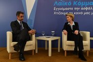 Σε φιλικό κλίμα η επικοινωνία Μητσοτάκη με την πρόεδρο της Κομισιόν