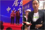 Διάσημος ηθοποιός τουΧονγκ Κονγκδέχθηκε επίθεση με μαχαίρι πάνω στη σκηνή (video)