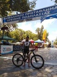 4η θέση για τον Πατρινό πρωταθλητή, Νίκο Ανδρεόπουλο στη Λιβαδειά
