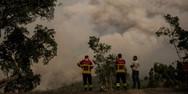 Μαίνονται οι πυρκαγιές στην Πορτογαλία - Πάνω από 900 πυροσβέστες επί ποδός