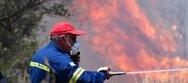 Δήμαρχος Μαρκοπούλου: «Έργο εμπρηστών η πυρκαγιά»