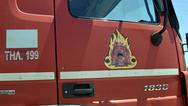 Πάτρα: Φωτιά στην Περιμετρική στο ύψος του κόμβου Γλαύκου
