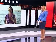 Η ψύχραιμη αντίδραση της παρουσιάστριας του Alpha την ώρα του σεισμού (video)