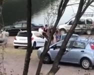 Δυτ. Ελλάδα: Έπεσε ξύλο σε beach bar έξω από τη Ναύπακτο (video)
