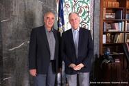 Συνάντηση του Κωνσταντίνου Τασούλα με τον Ευρωβουλευτή Ευάγγελο Μεϊμαράκη (φωτο)