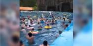 Τσουνάμι σε πισίνα τραυμάτισε 44 άτομα στη Κίνα (video)