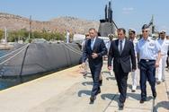 Επίσκεψη ΥΕΘΑ Νικόλαου Παναγιωτόπουλου στο Αρχηγείο Στόλου (φωτο)