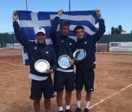 Τένις: 2η θέση για την Εθνική Αγοριών U16και πρόκριση στην τελική φάση της Γαλλίας