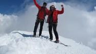 Οι δύο Θεσσαλοί ορειβάτες που κατάφεραν να κατακτήσουν την κορυφή του Matterhorn!