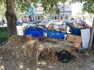 Θεσσαλονίκη: Βουνά σκουπιδιών μέσα στον καύσωνα! (φωτο)