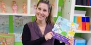 Νηπιαγωγός στη Θάσο έκανε το βιβλίο παιχνίδι και κέρδισε βραβείο