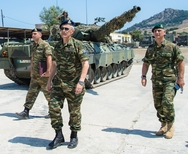 Επίσκεψη Αρχηγού ΓΕΣ στην ΧΙΙη Μηχανοκίνητη Μεραρχία Πεζικού (φωτο)
