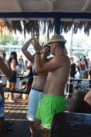 Mainstream Sundays at Sao Beach Bar 04-08-19 Part 1/3