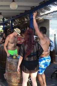Mainstream Sundays at Sao Beach Bar 04-08-19 Part 3/3