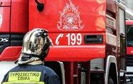 Πάτρα: Αυτοκίνητο τυλίχθηκε στις φλόγες στο Ρίο