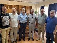 Εθιμοτυπική επίσκεψη του προεδρείου Ο.Ε.Β.Ε.Σ.Ν.Α. στη Γενική Περιφερειακή Αστυνομική Διεύθυνση Δυτικής Ελλάδας