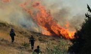 Yψηλός κίνδυνος πυρκαγιάς για την Πέμπτη σε Αχαΐα και Ηλεία