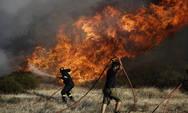 Ξέσπασε πυρκαγιά στην Παλαιομάνινα Αιτωλοακαρνανίας