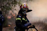 Αχαΐα: Ξέσπασε φωτιά στη Δροσιά του Δήμου Ερυμάνθου