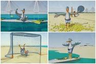 Σούπερ σταρ ο Πατρέας - Διαπρέπει και στα 11 αθλήματα των Μεσογειακών Αγώνων (video)