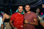 Aggelos Xiromeritis & Thanasis Salamalikis at Sao Beach Bar 08-08-19 Part 1/2