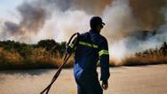 Αναζωπυρώθηκε η φωτιά στην Ελαφόνησο